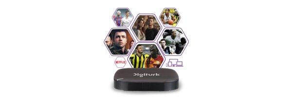 Digitürk Euro IPTV / INTERNET
