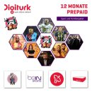 Digitürk beIN SAT HD Sport & Familienpaket Monatlich 19,90 Euro Laufzeit 12 mon.