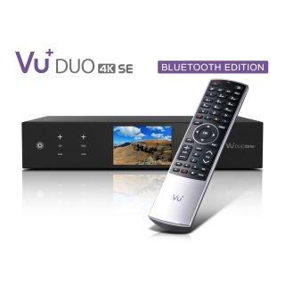 VU+ Duo 4K SE BT 1x DVB-T2 Dual Tuner PVR ready Linux Receiver UHD 2160p