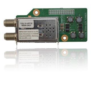 GigaBlue Dual DVB-S2X Multistream Tuner