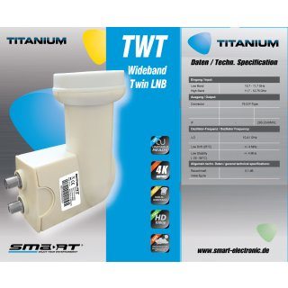 Smart TWT Twin Wideband LNB