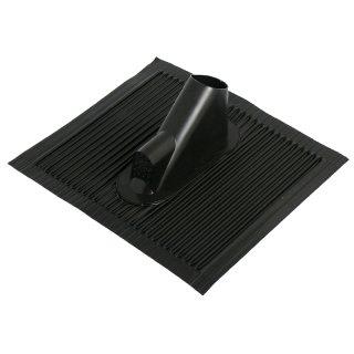 Alu Dachziegel mit Kabeldurchführung 40350 schwarz