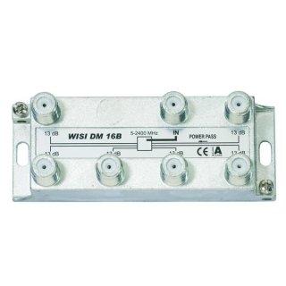 WISI SAT-Verteiler 6-fach DM 16B