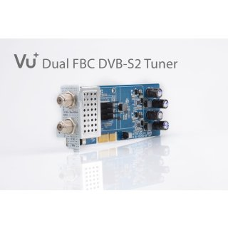 VU+ DVB-S2 FBC Twin Tuner Uno 4K / Ultimo 4K ( 8 Demodulatoren )