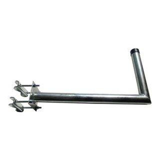 Balkonhalter L mit Schelle BHL 45A