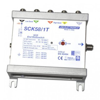 LEM SCK58/1 T Unicable Switch 8fach, terminiert