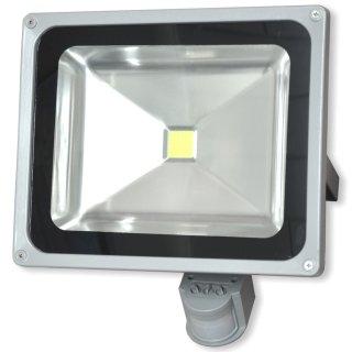 SUMMIT LED Flutlichtstrahler 50 Watt - mit Sensor 16274