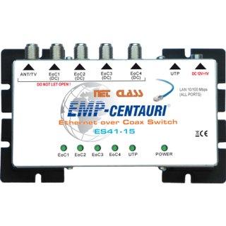 EMP Centauri UTP/Koax Ethernet-Schalter ES41-15