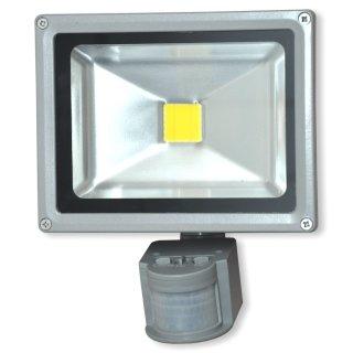 SUMMIT LED Flutlichtstrahler 20 Watt - mit Sensor