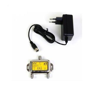 INVERTO Unicable Power Inserter + Netzteil