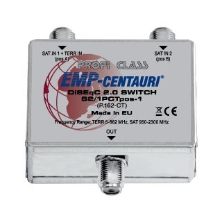 EMP DiSEqC switch S2/1PCTpos-1 (P.162-CT)