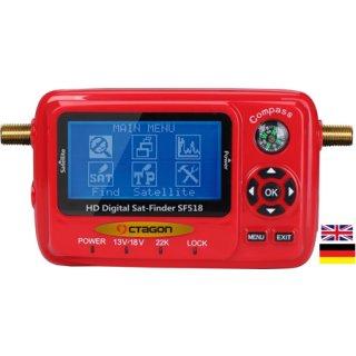 Octagon SF 518 LCD HD USB 2.0 Spektrum Messgerät