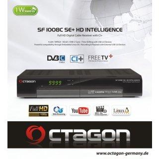 Octagon SF 1008 C SE+ CI+ DVB-C Cable