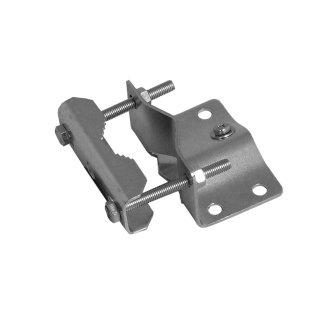 Mastfuß 46162 Mastfuß bis Ø 60mm Stahl verdrehsicher