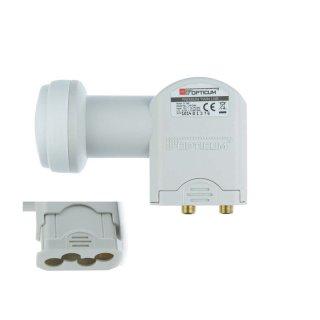 Opticum Twin LNB 0.1 dB LTP-04H