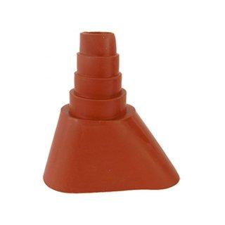 Gummi Manschette für Dachdurchführungen 30-60mm Zigelrot