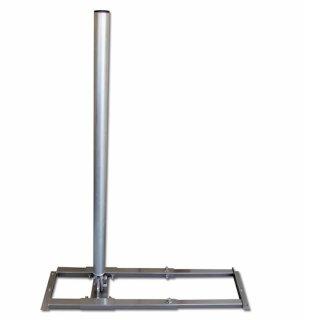 Dachsparrenhalter inkl. Mastrohr 60mm Durchmesser, Mastlänge 1meter