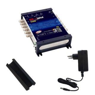 MK Digital MS 5-12 Multischalter mit LED Kontrollleuchte