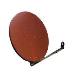 Gibertini OP85L Sat-Spiegel 85 cm Alu Rot