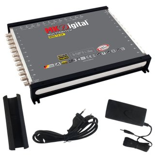 MK Digital MSQ 13-24 Multischalter, Multiswitch,Quad und Quattro LNB tauglich