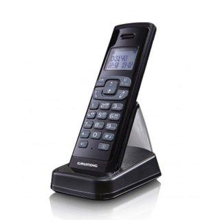 Grundig D3145 Schwarz mit grossem Display,Schnurloses Telefon mit Anrufbeantworter