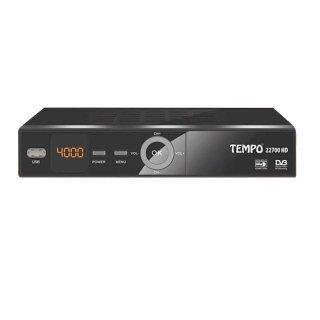 Tempo 22700 DVB-S2 SAT Receiver FullHD USB Mediaplayer MKV 12 V Camping
