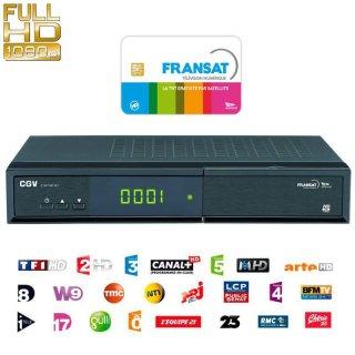 CGV HD-W3 HDTV Sat-Receiver für FranSAT