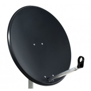 MK Digital Klick System Sat-Antenne 65cm Stahl in Anthrazit