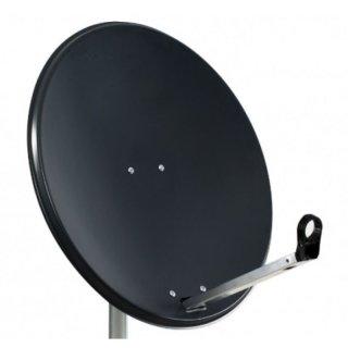 MK Digital Klick System Sat-Antenne 80 cm Stahl in Anthrazit