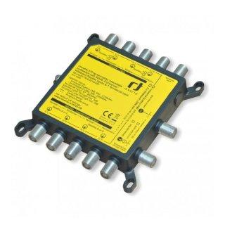 Inverto Programmierbarer Unicable II Multischalter - 32 Teilnehmer* - Wideband
