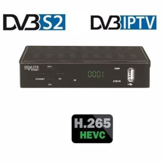 HD-Line S2+IPTV, Mediaplayer, H2.65 HEVC, Xtream-Stalker Portal Kompatibel