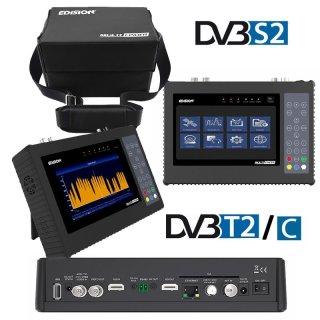 EDISION MULTI-FINDER H.265 Messgerat für DVB-S / S2 / T / T2 / C Signale CCTV-Tester